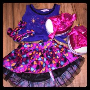 Build a Bear 🐻 Outfit!  Cute skirt and top set